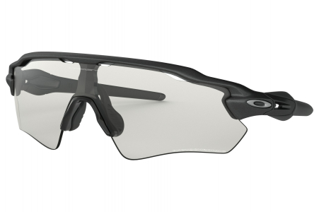 Oakley Radar Ev Path Steel W/clr To Black Photo
