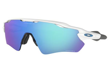 Oakley Radar Ev Path Polished White W/ Prizm Sapph