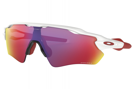 Oakley Radar Ev Path Polished White W/ Prizm Road