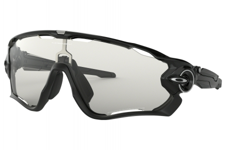 Oakley Jawbreaker Polished Black W/clear To Black Photo