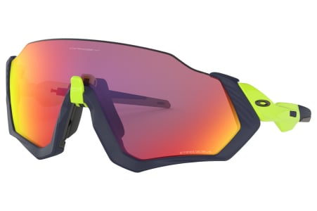 Oakley Flight Jacket Matte Navy/retbrn W/ Prizm Rd