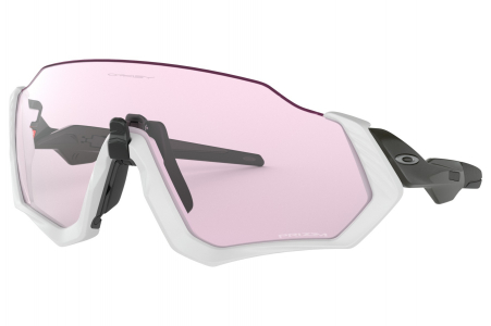 Oakley Flight Jacket Matte Gray/carbon W/prizm Lwlght
