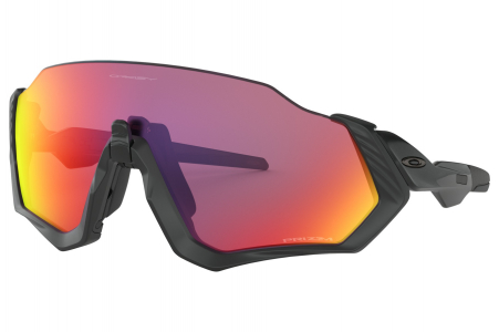 Oakley Flight Jacket Matte Black/black W/ Prizm Road