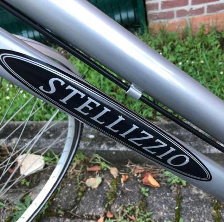 damesfiets stellizzio,28 inch,met 6 versnellingen,rijklaar!