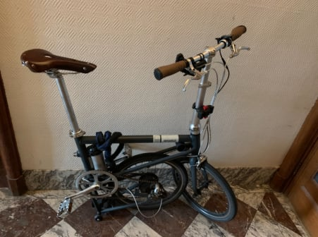 Ahooga Folding Bike 2019