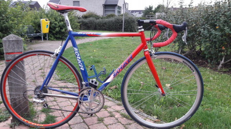 1998 Slagino Bower Bioracer racing bike/velo de course/koersfiets