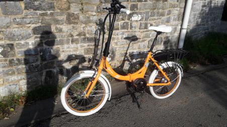 Vélo électrique pliant o2feel Peps N7C - OES 2020