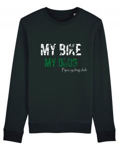 Pipa cycling club My bike, my drug sweater  men