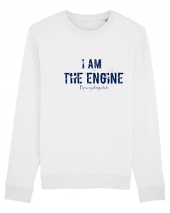 I am the engine sweater men