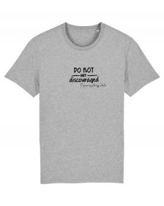 Pipa cycling club Do not get discouraged t-shirt men