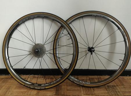 Shimano C24 Carbon wielset
