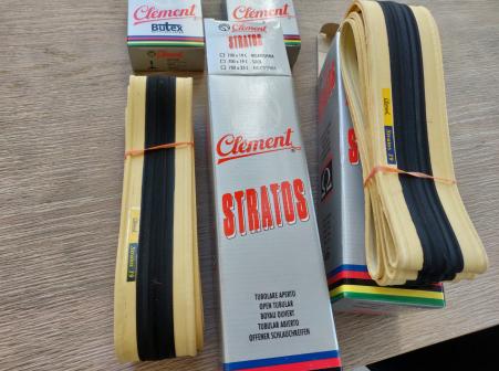 Clement stratos retro fietsbanden