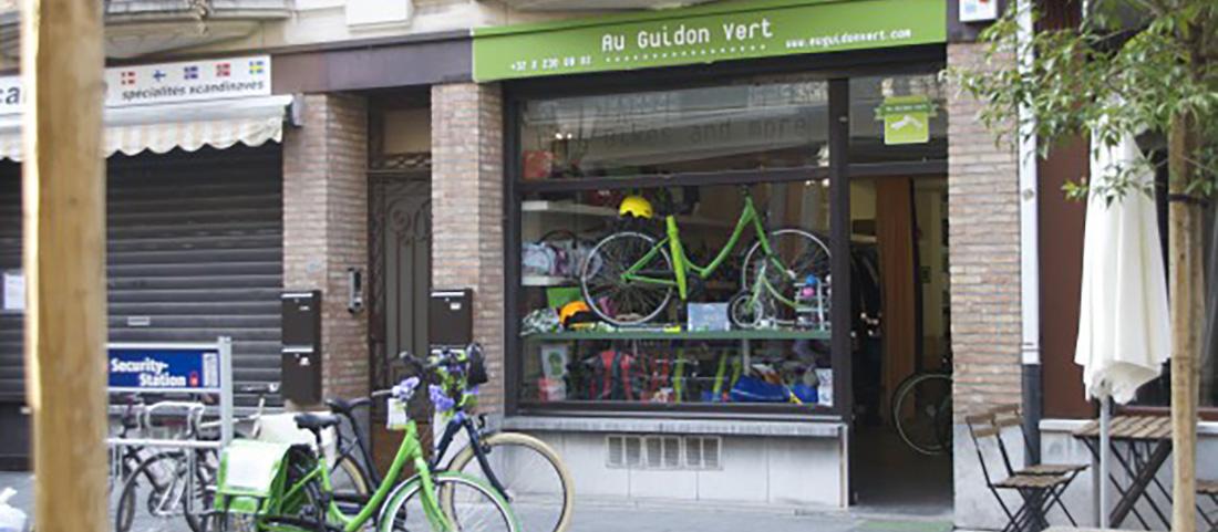 Cover Au Guidon Vert