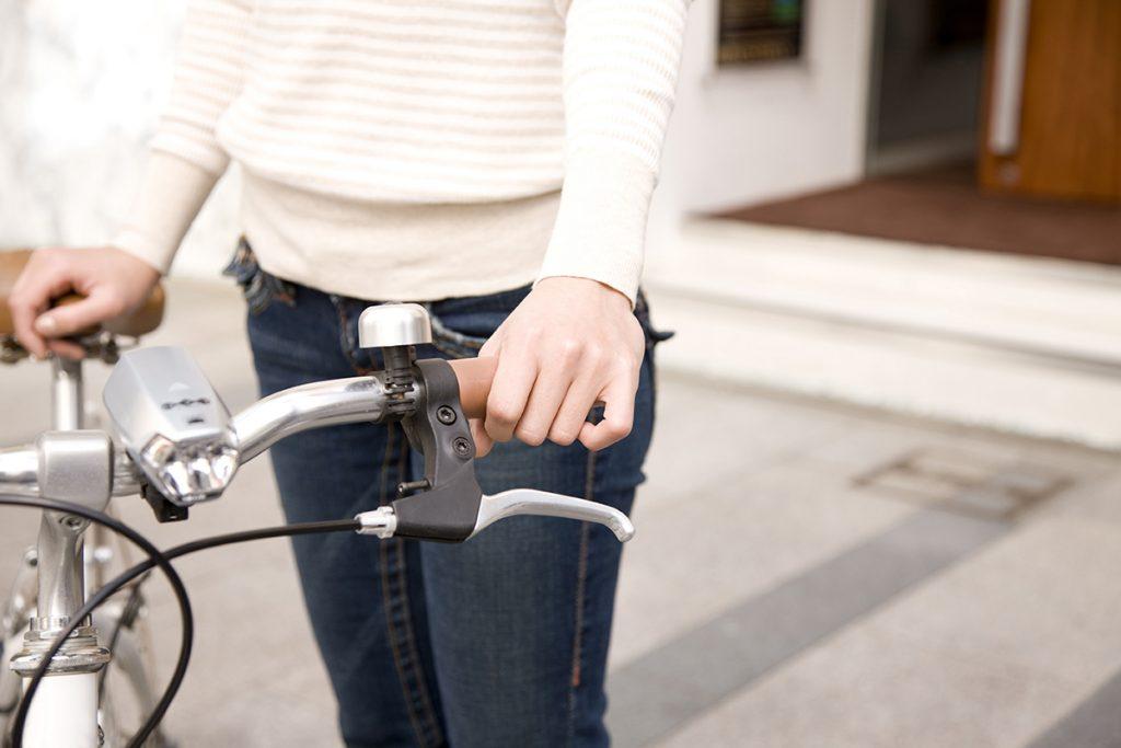 Avec une assurance vélo, vous prenez la route l'esprit tranquille.