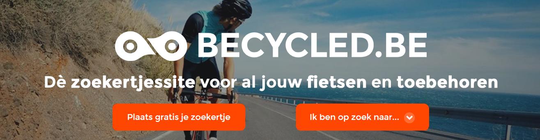 Becycled.be, de zoekertjessite voor al jouw fietsen en toebehoren. Tweedehands en nieuwe fietsen kopen en verkopen gaat heel makkelijk via onze website.