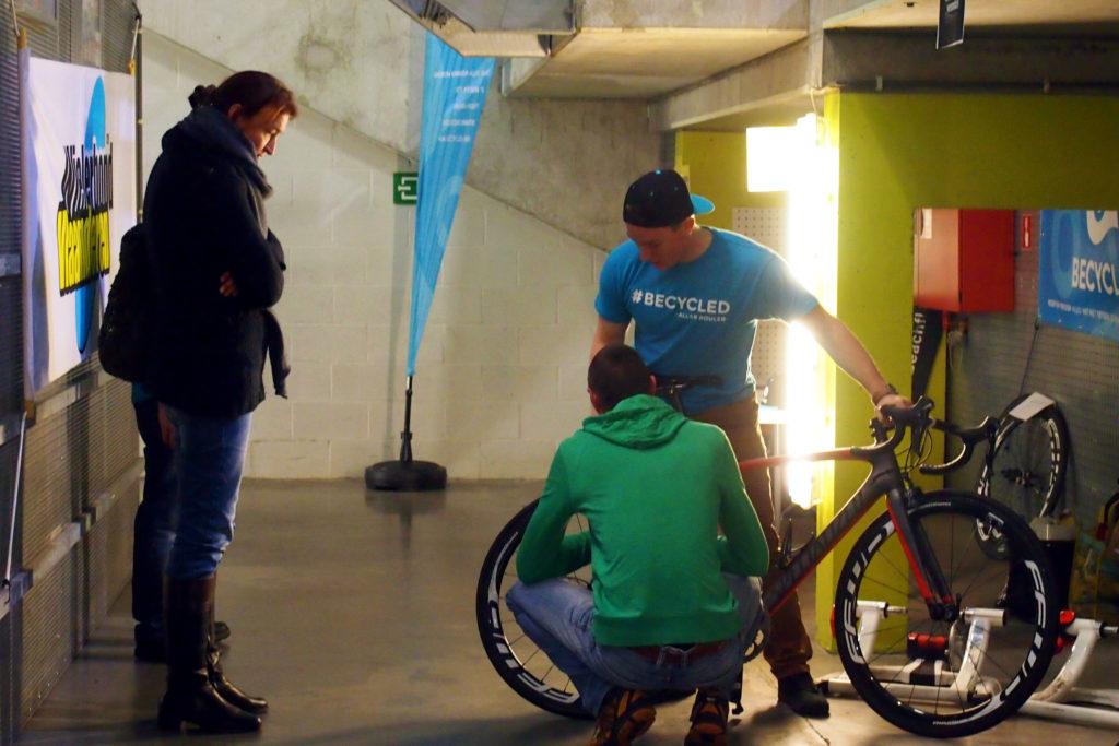Tweedehands fietsbeurs Gent by Becycled
