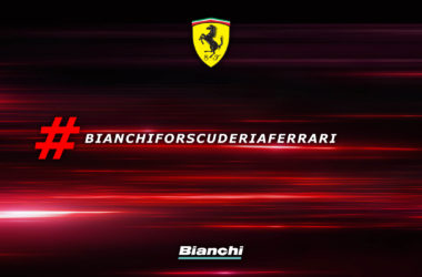 Bianchi en Ferrari scuderia maken samen fiets becycled