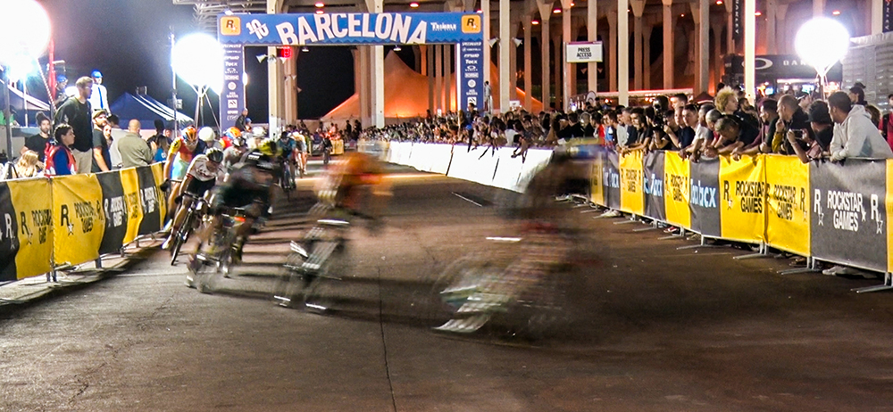 Red hook crit Barcelona becycled kasseivreters