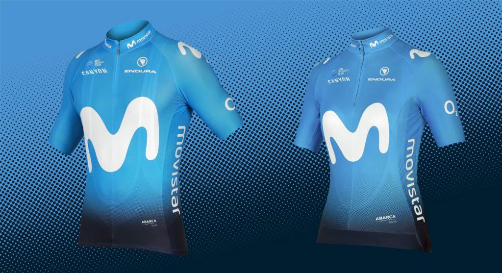 nieuwe fietstrui kledij tenue worldtour ploegen 2018