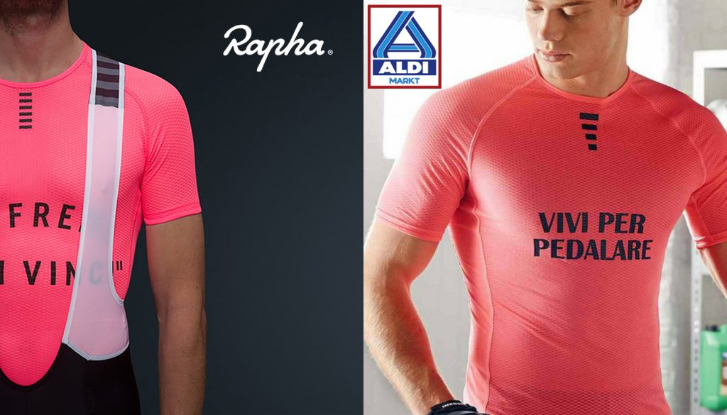 Rapha vs Aldi se freni non vinci
