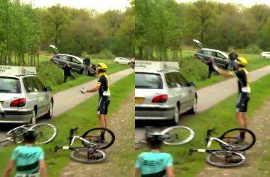 jurywagen over fiets pwz zuidenveldtour