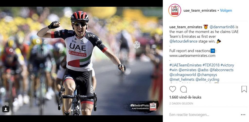 Champion System trui zonder rits - uae team emirates - tour de france - 1