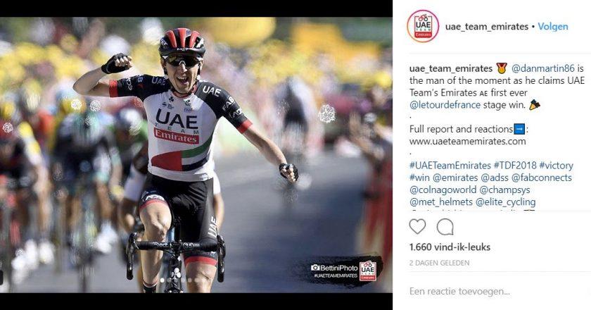 Champion System trui zonder rits - uae team emirates - tour de france - 1
