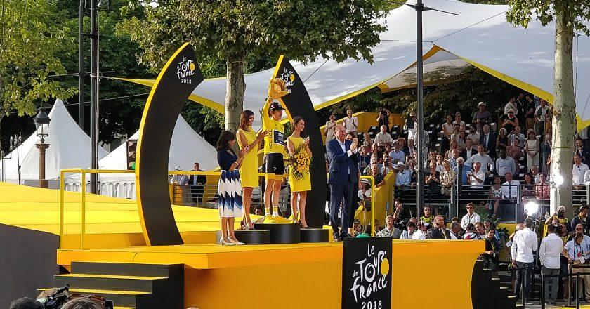 Vermogen Tour de France watt