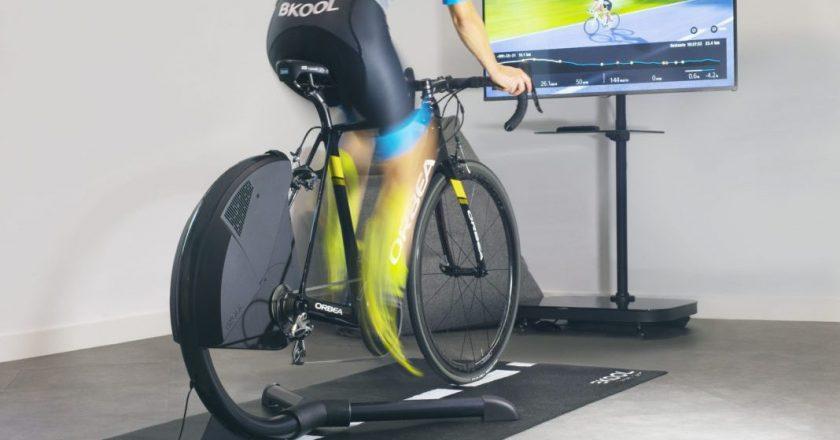 Bkool smart air fietstrainer met directe aandrijving