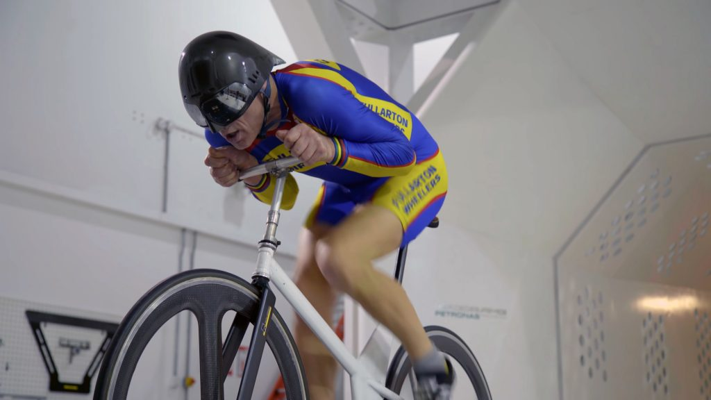 graeme obree old faithfull windtunnel test