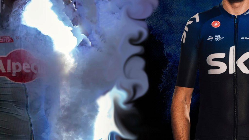 nieuwe truitjes wielrennen worldtour teams