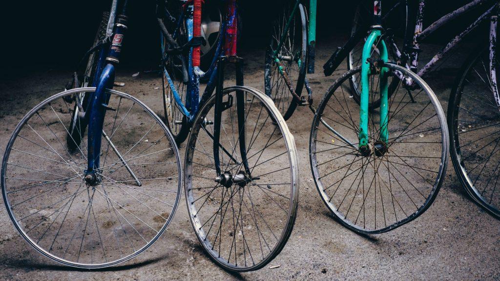 aantal gestolen fietsen in België