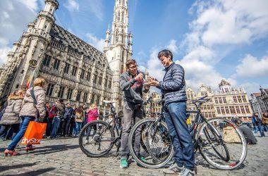Hoeveel fietsers zijn er in Brussel?