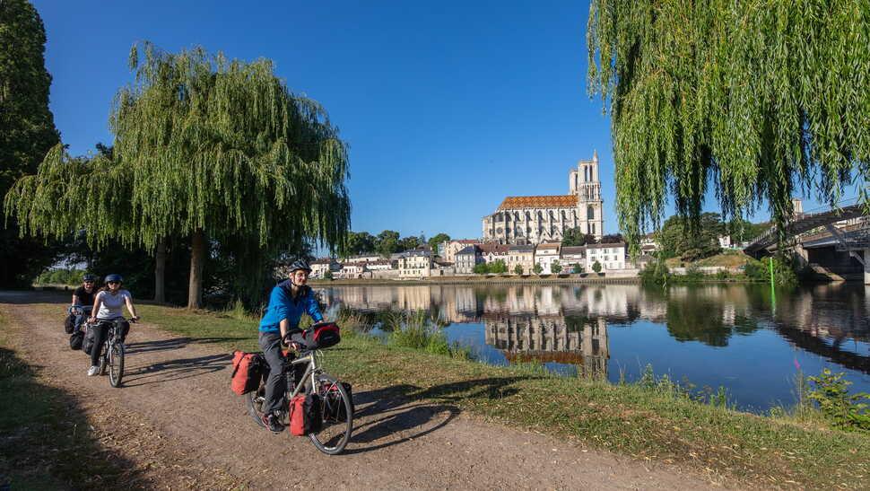 Mantes-la-Jolie - La Seine à Vélo